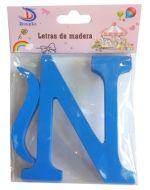 Letras de Madera  x 12 Unds. Medida: 11 x 1.2 cm aprox.