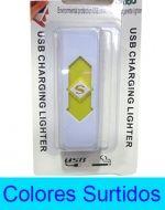 Encendedor Electrónico con USB x 4 Unds.