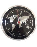 Reloj de Metal para Pared x 3 unds. Medida: 30x30x4 cm Aprox.