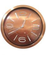 Reloj de Metal para Pared x 2 Unds. Medida: 39x39 cm Aprox.