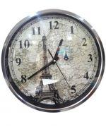 Reloj de Metal para Pared x 3 unds. Medida: 32x32x4 cm.