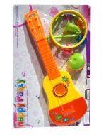 Set de Gitarra con Panderta x4 Set. Medida: 41x13 cm Aprox.