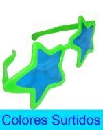 Lente Jumbo Fluor de Plástico x 12 Unds. Medida: 27 x 9 cm Aprox.