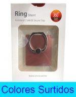 Ring para Celular  de Metal x 12 Unds. Medida: 4 x 3.5 cm.