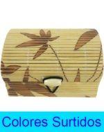 Caja de Bamboo x 12 Unds. Medida: 4 x 8 x 5.5 cm.