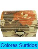 Caja de Bamboo x 12 Unds. Medida: 7 x 3.5 x 5 cm.