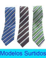 Corbata de Hombre x 6 Unds. Medida: 1.50 cm.