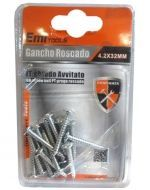 24 Set de Tornillo Roscado   Medida:  4.2 x 32 mm.