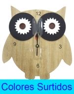 Reloj de Pared x 4 Unds. Medida: 28 x 27 cm.