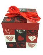 Caja de Regalo Armable love   x 12 Und. Medida: 10 x 10 x 10 cm aprox.