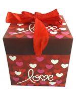 Caja de Regalo Love  Armable   x 12 Und. Medida: 10 x 10 x 10 cm aprox.