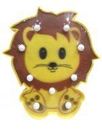 Lampara León x 4 Unds. Medida: 22 x 18 cm Aprox.