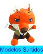 Peluche Conejo con Chupon x6 Unds. Medida: 21.5 cm aprox.