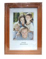Porta Retrato de Madera x4 Unid. Medida: 8x12 (20x30 cm)
