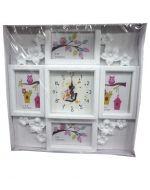 Reloj con Porta Retrato  x4 unds,
