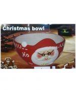 Bowl de Loza Navideña x 4 Und.  Medidas : 16 x 16 x 5 cm Aprox.