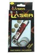 Llavero Laser  x 12 Unds. Medida: 7 cm.