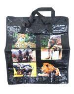 Bolsa Matutera con Diseño x 12 Unds. Medida: 35 x 20 x 20 cm.