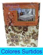 Mantel Cuadrado con Diseño x4 unds  Medidas: 140x220 cm