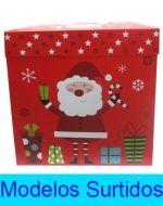 Caja de Regalo Navideña x 6 Unds. Medida: 30 x 30 cm.