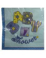 Servilleta Shower x12 Und. Medida: 33x33 cm Aprox.