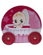 Caja de Metal para Baby Shower x6 Und. Medida: 12x11x5 cm