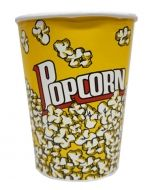 Set de Vaso para Popcorn  x1 set. Medida: 15x11 cm Aprox.