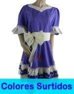 Vestido Huasa para Niña x6 Unds. Tallas: 2 al 12