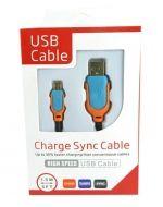Cable USB V8 x 4 Und. Medida: 1.5 Metros