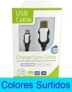 Cable USB x 4 Und. Medida: 1.5 Metros