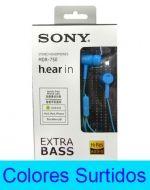 Audífono Sony ML x 4 Unds.