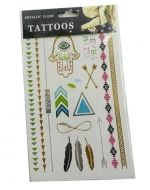 Tatuaje de niña Surtido x 6 unds