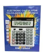 Calculadora Electronica DM-1200 u x4 Unids.
