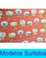 Papel de Regalo Navideño x 50 Unds. Medida: 96.5x68 cm Aprox.