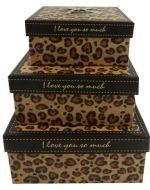 1 Set de Cajas de Regalo
