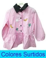 Vestido de Niña x4 Unds. Tallas: 1 - 4
