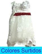 Vestido de Niña x4 Unds. Tallas: 1 - 6