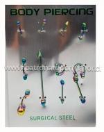 6 Set Body Piercing
