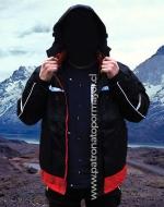 Parka Impermeable Interior Polar con Gorro Desmontable x 4 Unds. Tallas: M - L - XL - XXL