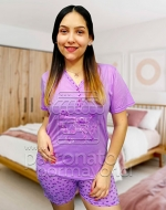 Pijama de Algodón Dama x 5 unds Tallas: S - M - L - XL - XXL