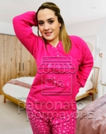 Pijama de Polar  Talla Grande x 5 Unidades Tallas: 52 - 54 - 56 - 58 - 60