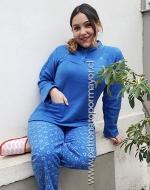 Pijama de Polar Dama x 5 unds Tallas: - M - L - XL - XXL