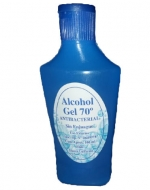 Alcohol l Gel  70% Antibacterial  con  Registro ISP 100 ml  x 100 unid