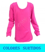 Camiseta  Niña Polar x 36  Unds. Talla: 5 6/7 8/9 10/11  12