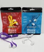 Audífonos Super Bass x 12 Unids.