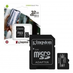 Micro SD 32 GB + Adaptador x 4 Unids.