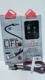 Cable USB Tipo C x 6 Unids.