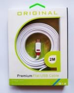 Cable USB 2 Metros x 6 Unids.