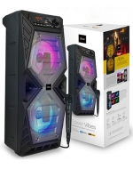 Parlante Bluetooth con Micrófono Tower Vibes x 1 Unid.