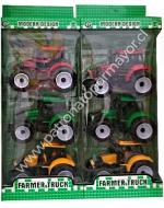 6 Packs Tractor Granjero